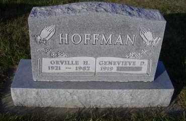 PETERSEN HOFFMAN, GENEIEVE D. - Madison County, Nebraska | GENEIEVE D. PETERSEN HOFFMAN - Nebraska Gravestone Photos