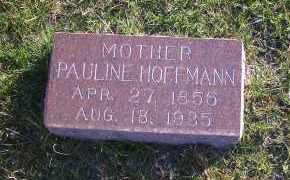 HOFFMANN, PAULINE - Madison County, Nebraska | PAULINE HOFFMANN - Nebraska Gravestone Photos