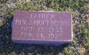 HOFFMANN, REV. J. - Madison County, Nebraska | REV. J. HOFFMANN - Nebraska Gravestone Photos