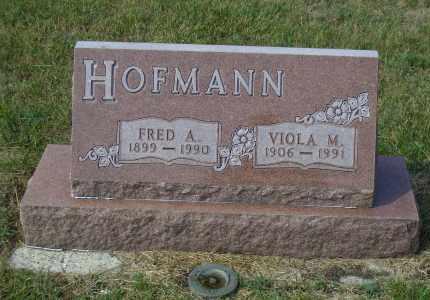 HOFMANN, FRED A. - Madison County, Nebraska   FRED A. HOFMANN - Nebraska Gravestone Photos