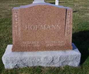 HOFMANN, WILHEIMINA - Madison County, Nebraska | WILHEIMINA HOFMANN - Nebraska Gravestone Photos