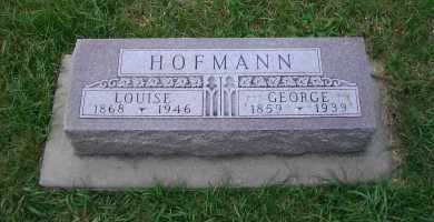 HOFMANN, LOUISE - Madison County, Nebraska | LOUISE HOFMANN - Nebraska Gravestone Photos