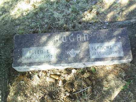 HOGAN, BLANCHE - Madison County, Nebraska   BLANCHE HOGAN - Nebraska Gravestone Photos
