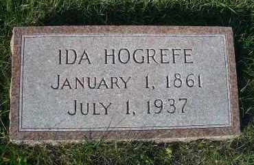 GUNKEL HOGREFE, IDA - Madison County, Nebraska   IDA GUNKEL HOGREFE - Nebraska Gravestone Photos