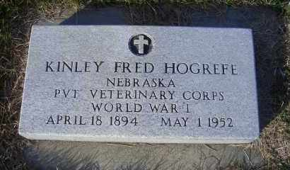 HOGREFE, KINLEY FRED - Madison County, Nebraska   KINLEY FRED HOGREFE - Nebraska Gravestone Photos
