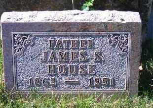 HOUSE, JAMES S - Madison County, Nebraska | JAMES S HOUSE - Nebraska Gravestone Photos