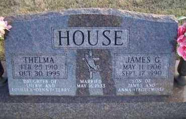 HOUSE, THELMA - Madison County, Nebraska | THELMA HOUSE - Nebraska Gravestone Photos