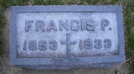 HUGHES, FRANCIS P. - Madison County, Nebraska | FRANCIS P. HUGHES - Nebraska Gravestone Photos