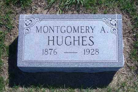 HUGHES, MONTGOMERY A. - Madison County, Nebraska | MONTGOMERY A. HUGHES - Nebraska Gravestone Photos