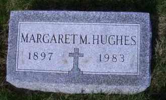 HUGHES, MARGARET M. - Madison County, Nebraska   MARGARET M. HUGHES - Nebraska Gravestone Photos