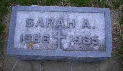 HUGHES, SARAH - Madison County, Nebraska   SARAH HUGHES - Nebraska Gravestone Photos