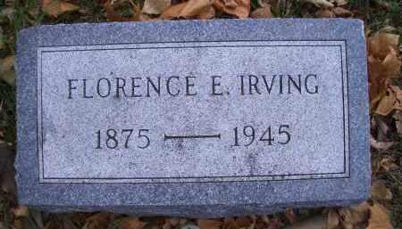 BUSS IRVING, FLORENCE E - Madison County, Nebraska | FLORENCE E BUSS IRVING - Nebraska Gravestone Photos
