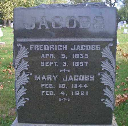 JACOBS, MARY - Madison County, Nebraska | MARY JACOBS - Nebraska Gravestone Photos