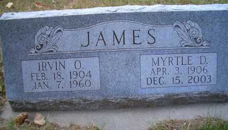 JAMES, MYRTLE D - Madison County, Nebraska   MYRTLE D JAMES - Nebraska Gravestone Photos