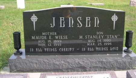 "JENSEN, M. STANLEY ""STAN"" - Madison County, Nebraska   M. STANLEY ""STAN"" JENSEN - Nebraska Gravestone Photos"