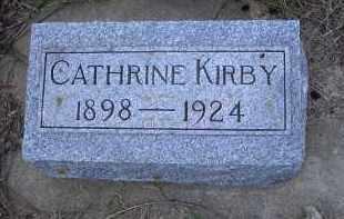 KIRBY, CATHERINE - Madison County, Nebraska   CATHERINE KIRBY - Nebraska Gravestone Photos