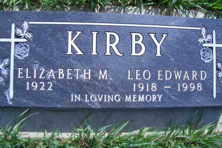 KIRBY, LEO EDWARD - Madison County, Nebraska | LEO EDWARD KIRBY - Nebraska Gravestone Photos