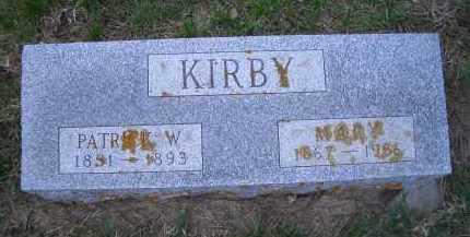 SMITH KIRBY, MARY - Madison County, Nebraska   MARY SMITH KIRBY - Nebraska Gravestone Photos