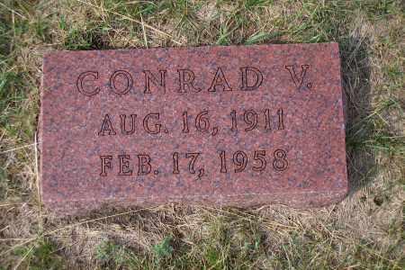 KLEIN, CONRAD V. - Madison County, Nebraska | CONRAD V. KLEIN - Nebraska Gravestone Photos