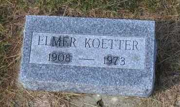 KOETTER, ELMER - Madison County, Nebraska | ELMER KOETTER - Nebraska Gravestone Photos