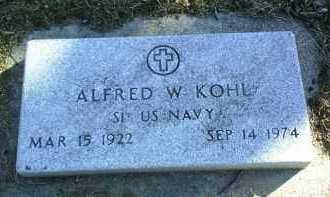 KOHL, ALFRED - Madison County, Nebraska | ALFRED KOHL - Nebraska Gravestone Photos