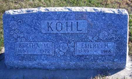 SIMON KOHL, BERTHA M - Madison County, Nebraska | BERTHA M SIMON KOHL - Nebraska Gravestone Photos