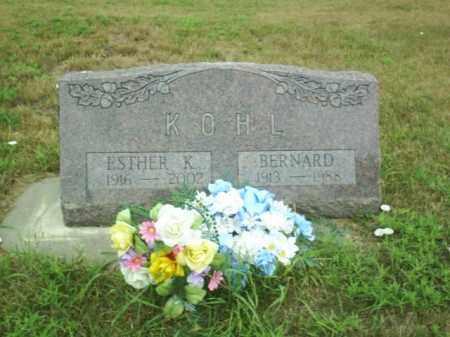 KOHL, BERNARD - Madison County, Nebraska | BERNARD KOHL - Nebraska Gravestone Photos