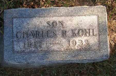 KOHL, CHARLES R - Madison County, Nebraska | CHARLES R KOHL - Nebraska Gravestone Photos