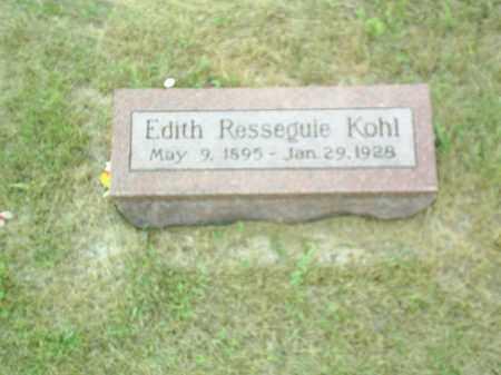 KOHL, EDITH R - Madison County, Nebraska | EDITH R KOHL - Nebraska Gravestone Photos