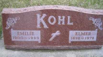 KOHL, EMILIE - Madison County, Nebraska | EMILIE KOHL - Nebraska Gravestone Photos