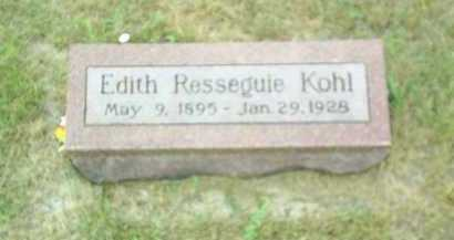 KOHL, EDITH - Madison County, Nebraska | EDITH KOHL - Nebraska Gravestone Photos