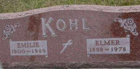 KOHL, EMILIE - Madison County, Nebraska | EMILIE KOHL - Nebraska Gravestone Photos