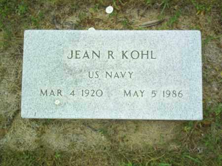 KOHL, JEAN R - Madison County, Nebraska | JEAN R KOHL - Nebraska Gravestone Photos