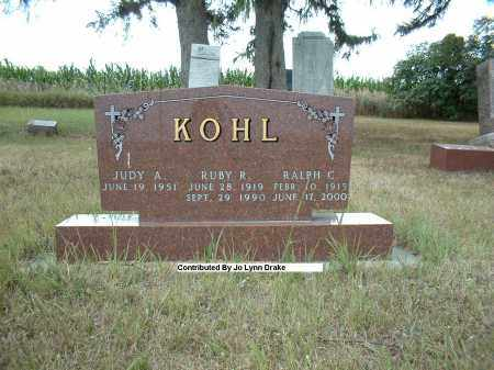 KOHL, RUBY R - Madison County, Nebraska | RUBY R KOHL - Nebraska Gravestone Photos