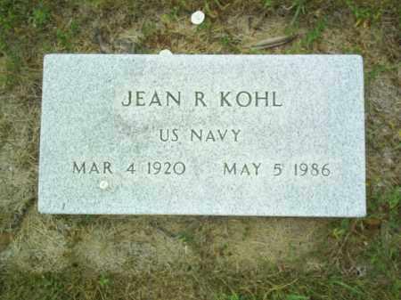 KOHL, JEAN - Madison County, Nebraska | JEAN KOHL - Nebraska Gravestone Photos