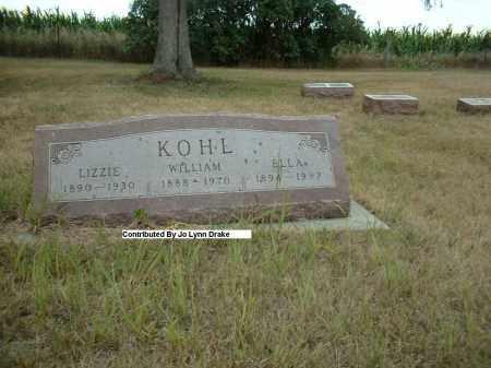 KOHL, ELLA - Madison County, Nebraska | ELLA KOHL - Nebraska Gravestone Photos
