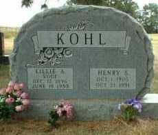 KOHL, HENRY - Madison County, Nebraska | HENRY KOHL - Nebraska Gravestone Photos