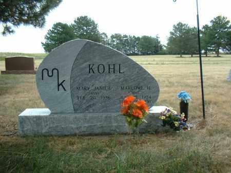KOHL, MARLOWE - Madison County, Nebraska | MARLOWE KOHL - Nebraska Gravestone Photos