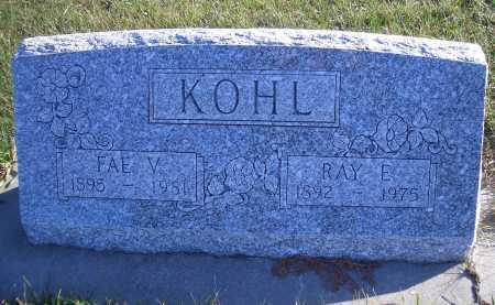 KOHL, RAY E - Madison County, Nebraska | RAY E KOHL - Nebraska Gravestone Photos