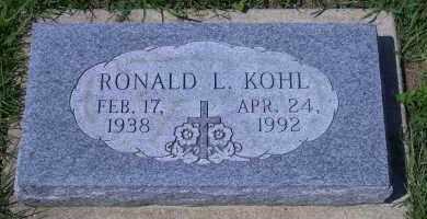 KOHL, RONALD H. - Madison County, Nebraska | RONALD H. KOHL - Nebraska Gravestone Photos