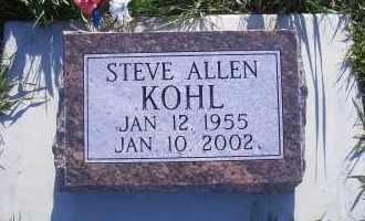 KOHL, STEVE ALLEN - Madison County, Nebraska | STEVE ALLEN KOHL - Nebraska Gravestone Photos