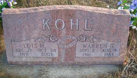 KOHL, LOIS M - Madison County, Nebraska | LOIS M KOHL - Nebraska Gravestone Photos