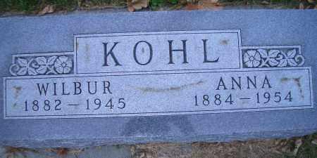 KOHL, ANNA - Madison County, Nebraska | ANNA KOHL - Nebraska Gravestone Photos