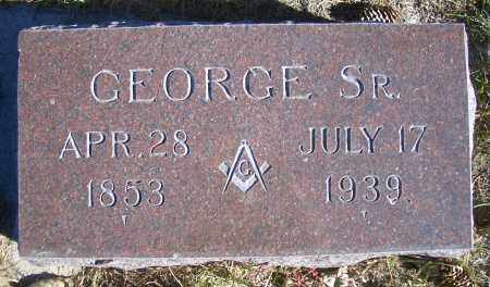 KRUMM, GEORGE SR. - Madison County, Nebraska | GEORGE SR. KRUMM - Nebraska Gravestone Photos