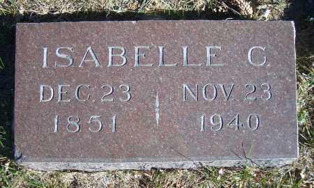 WARREN KRUMM, ISABELLE C - Madison County, Nebraska   ISABELLE C WARREN KRUMM - Nebraska Gravestone Photos