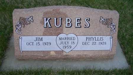 KUBES, JIM - Madison County, Nebraska   JIM KUBES - Nebraska Gravestone Photos