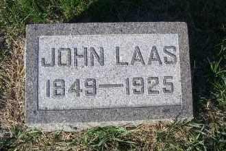 LAAS, JOHN - Madison County, Nebraska | JOHN LAAS - Nebraska Gravestone Photos
