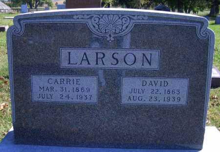 LARSON, CARRIE - Madison County, Nebraska   CARRIE LARSON - Nebraska Gravestone Photos