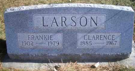 LARSON, FRANKIE C - Madison County, Nebraska | FRANKIE C LARSON - Nebraska Gravestone Photos