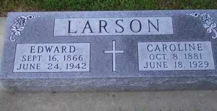 LARSON, EDWARD - Madison County, Nebraska | EDWARD LARSON - Nebraska Gravestone Photos